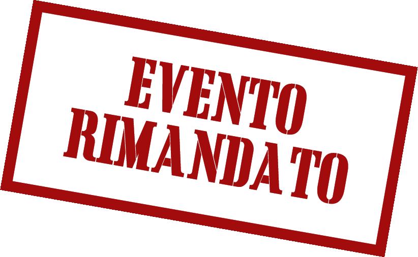 evento rimandato